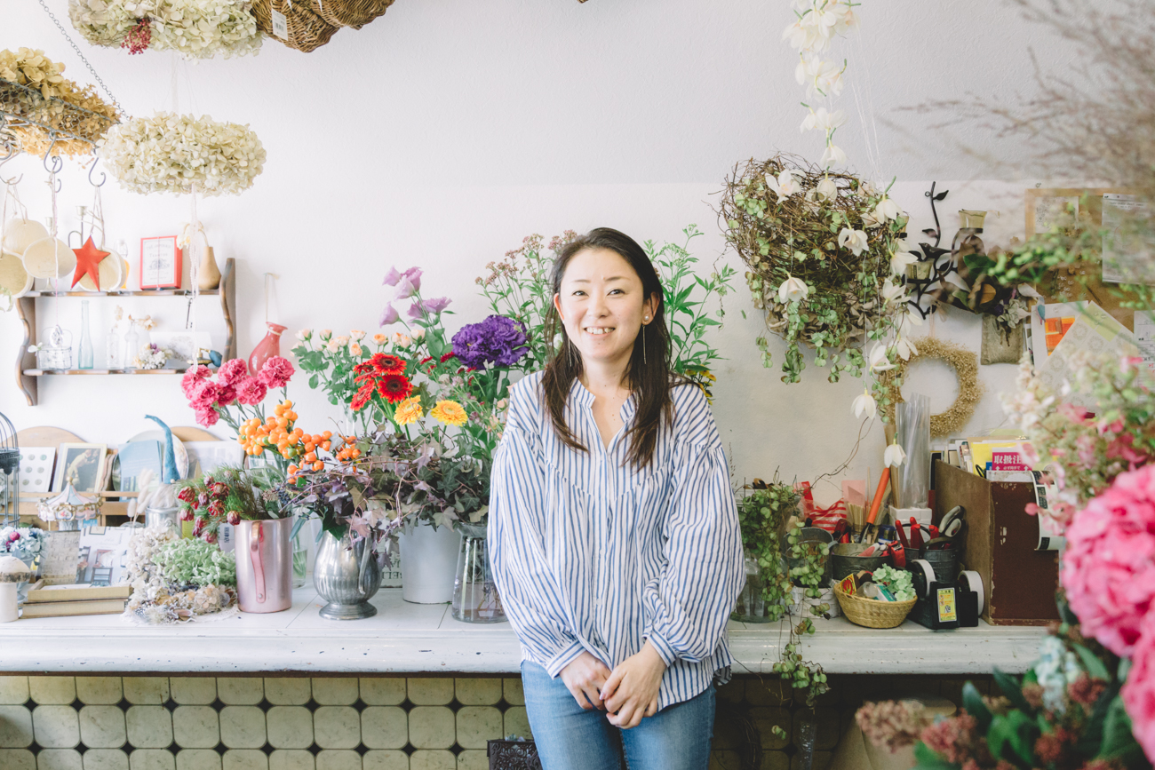 Read more about the article 土屋聡美さん 〈Flower work Akkord 〉